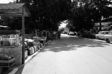 Der Markt im Dorfzentrum.